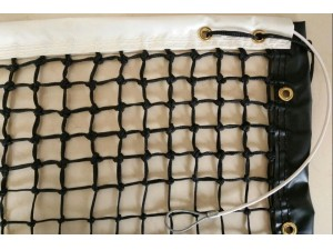 3.0mm polyethylene knotted Club Tennis Net(TN-BR-30)