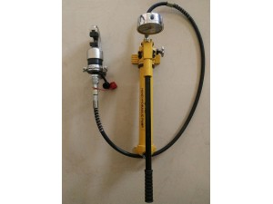 Hand Pump Crimping Tool-Double Connector